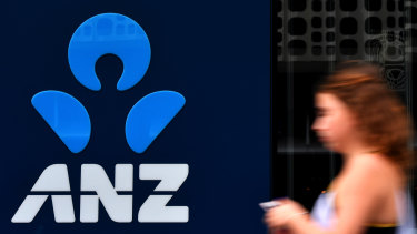 ANZ cut the tax credit available to Australianshareholders by lowering the rate of franking on its dividend.