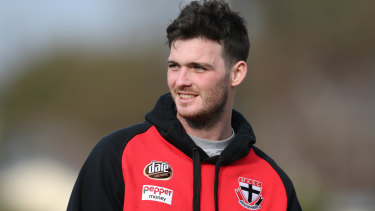 Out of sorts: Saint Dylan Roberton.