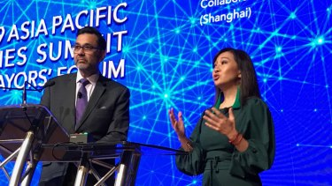 Dr Peggy Liu, Shanghai-based chair of the Joint US China Collaboration on Clean Energy at the 2019 Asia Pacific Cities Summit questions why Australia is opening new coal mines as demand for coal in China declines.