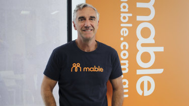 Peter Scutt founded Mable which has raised more than $20 million.