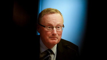 Reserve Bank Governor Philip Lowe on Friday.