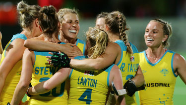 The Hockeyroos.