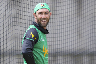 The Stars are banking on more magic from a happy Glenn Maxwell.