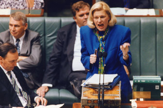 "Federal minister Ros Kelly resigned in 1994 after the $30 million ""sports rorts"" affair."