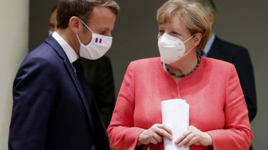 French President Emmanuel Macron and German Chancellor Angela Merkel have backed the pandemic treaty concept.