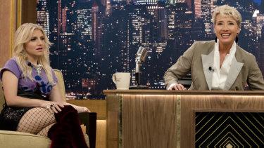 Emma Thompson stars as Katherine Newbury in Late Night.