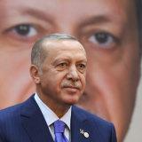 Turkey's President Recep Tayyip Erdogan in Istanbul on Saturday.