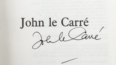 John le Carre adopted his new name after the success of The Spy Who Came in From the Cold.