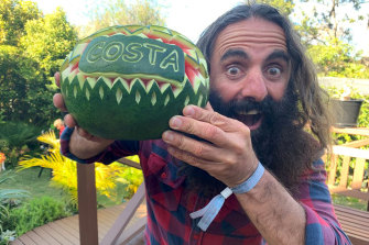 Costa Georgiadis's passion shines through on Gardening Australia, which enters 31st year.