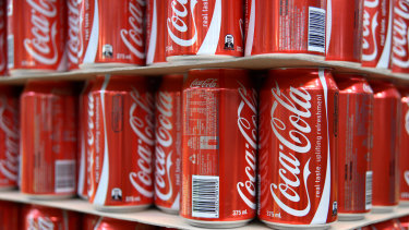 Coca-Cola is another company that the Fed has bought bonds in.