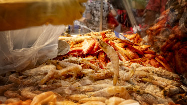 The seafood industry is also concerned about how the coronavirus will affect it.