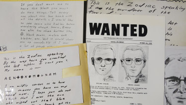 The coded letter was mailed to a San Francisco newspaper by the Zodiac serial killer in 1969.