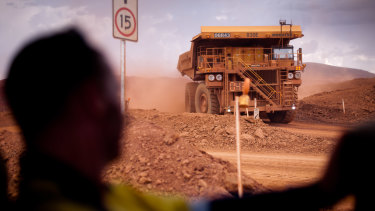 The price of iron ore, Australia's top export, has defied repeated predictions of a fall.