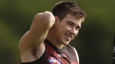 Zach Merrett was battling illness in round one.