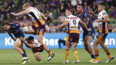 Brisbane can can't stay in the fight long enough to beat the good teams, as Ryan Papenhuyzen and the Storm proved again last weekend.