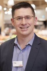 Coles' chief of commercial and express, Greg Davis.