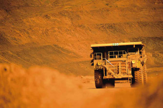 Booming iron ore prices are set to boost the coffers of Australia's top mining companies.