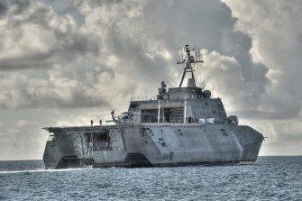 An Austal-built littoral combat ship.