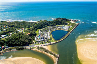Ingenia Holidays' White Albatross holiday park at Nambucca Heads on the NSW North Coast.