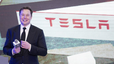 Hitting a new record: Tesla CEO Elon Musk is happy to see short sellers burn.