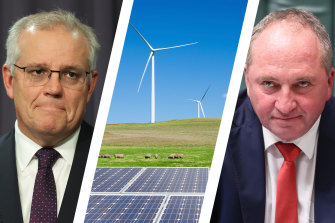 As the price of renewable generation continues to fall, Scott Morrison is facing a test on energy policy as Barnaby Joyce backs new coal-fired power.