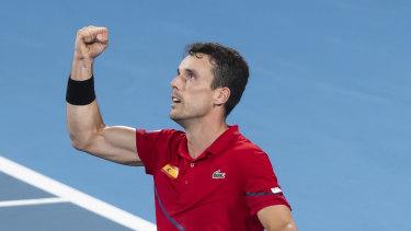 Winner: Roberto Bautista Agut.