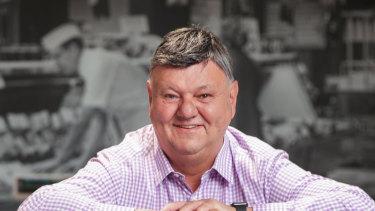 Ritchies Supa IGA chief executive Fred Harrison.