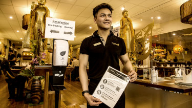 Safety first: Shawn Paikaew of Thai Pothong.