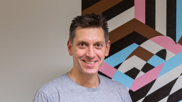 Redbubble chief executive Barry Newstead is hoping the Christmas period will help the business regain lost sales.