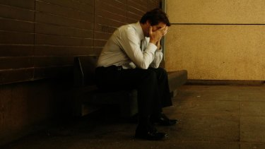 We're at our most miserable in our late forties, the study finds.