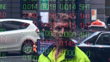 The ASX fell for a third session on Monday, equaling its longest losing streak since early August.