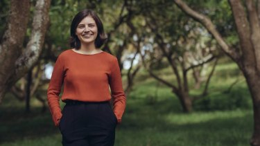 Kiwi MP Chloe Swarbrick, 25, who threw out the 'OK Boomer' retort when heckled recently.