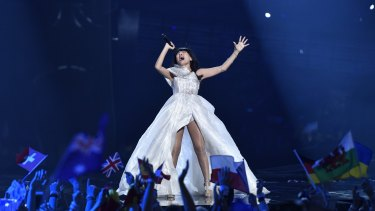 Dami Im's stunning performance landed her in second place at the 2016 Eurovision Song Contest.