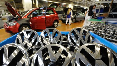 Volkswagen is accused of breaching lending laws over a three-year period.