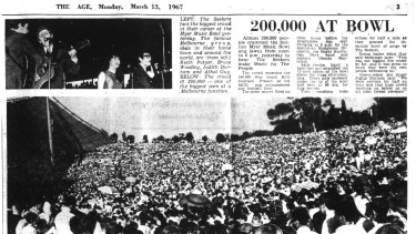 The Age reported the record-breaking number.