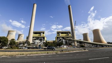AGL's coal-fired Loy Yang power plant in the Latrobe Valley.