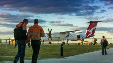 Cobham operates about 20 aircraft on behalf of QantasLink.