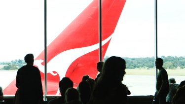 Qantas said it did not cancel flights for commercial reasons.