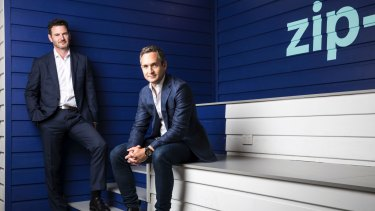 Zip Co co-founders Peter Gray and Larry Diamond have struck up a strategic relationship with Amazon Australia.