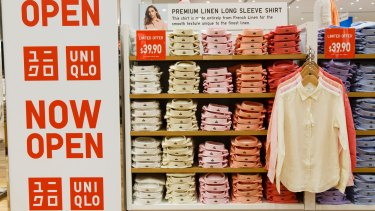 Uniqlo's sales figures are dwarfing the numbers of local retailers.