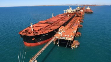 Using LNG instead of bunker fuel could cut emissions by 25 per cent, says BHP.