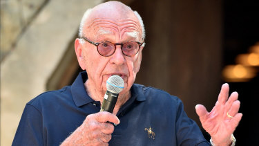 Rupert and Jerry Murdoch have personally donated $2 million to bushfire relief.