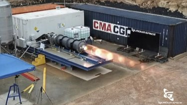 Gilmour's current rocket designs have been tested and are on track for launch.  - 1e7bec77ae49d4b40dc21a9d1e26ea51d9fcfb03 - Aussie space company goes small to beat Musk and Bezos