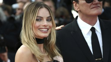 Margot Robbie at the premiere of Once Upon a Time in Hollywood in Cannes, southern France.