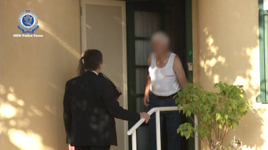 Private art teacher Frederick Brian Jones was arrested at his south Sydney home on Wednesday.