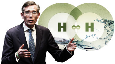 NSW Premier Dominic Perrottet has backed green hydrogen to boost the economy and help reduce carbon emissions.