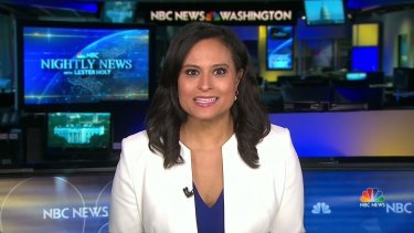 NBC News White House correspondent Kristen Welker, moderator of the second presidential debate.