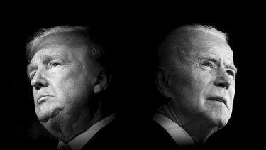 Trump versus Biden.