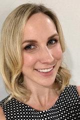 University of Queensland researcher Anna Hogan.