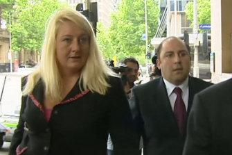 Nicola Gobbo  with Tony Mokbel in 2004.